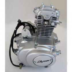 Sabot moteur alu pour cadre standard bleu