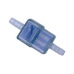 Filtre essence plastique bleu