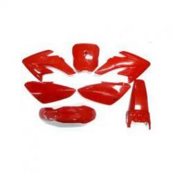 Kit plastique CRF150 Rouge